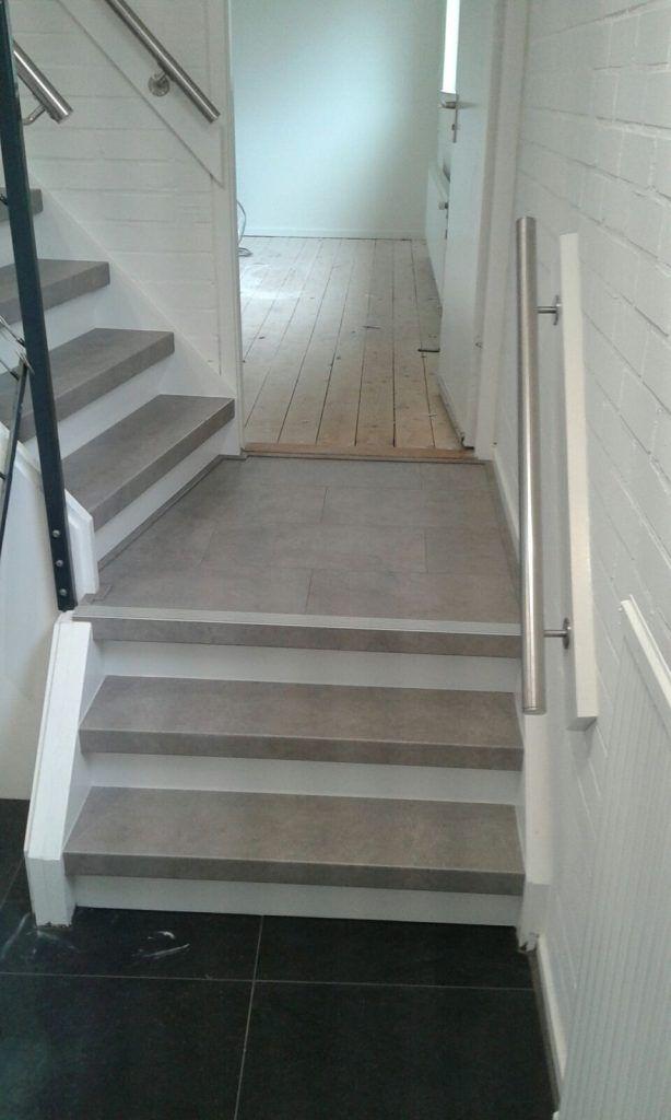 Beton dichte trap mondea spanplafond en traprenovatie - Eigentijds trap beton ...
