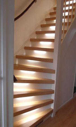 Dichte trap mondea spanplafond en traprenovatie for Dichte trap maken