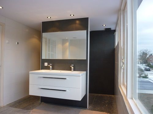 badkamer plafond mondea spanplafond en traprenovatie